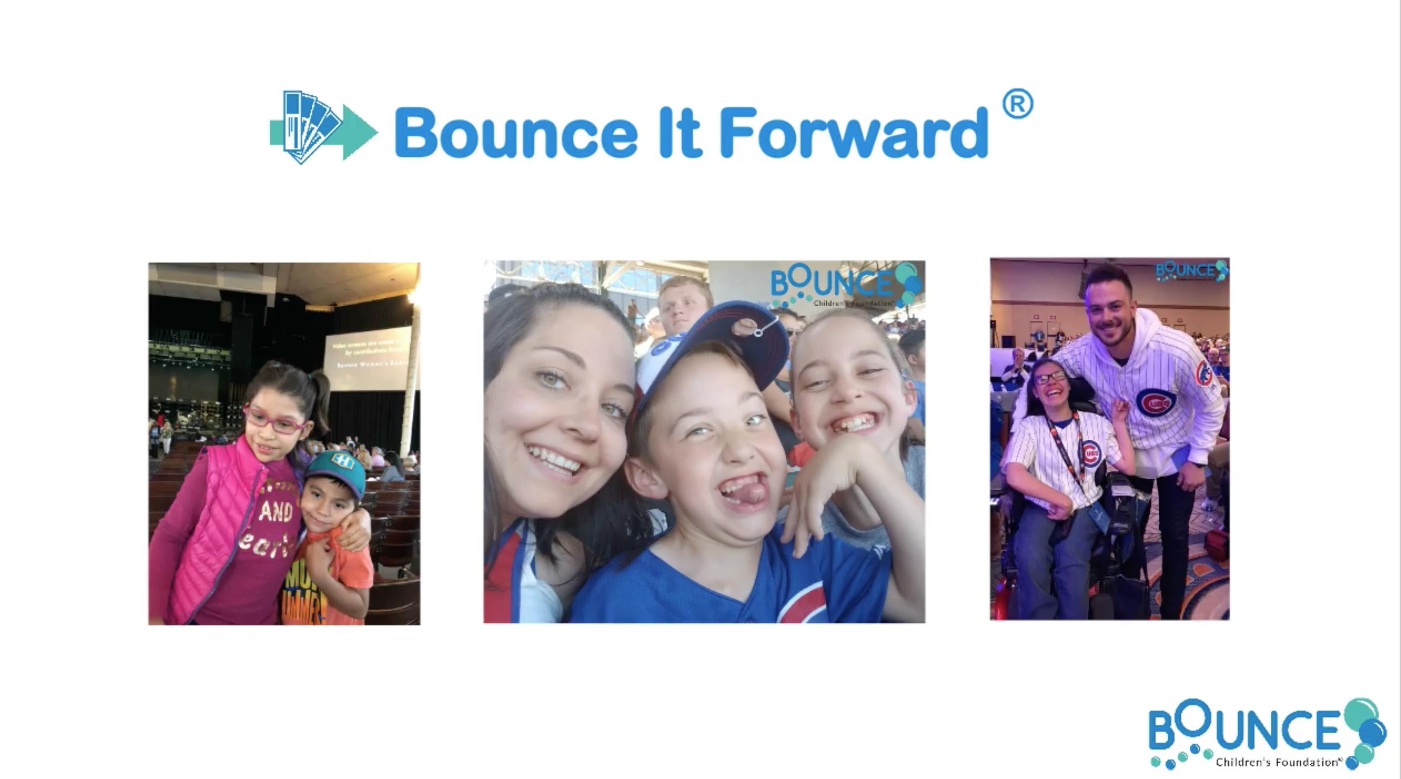 Bounce It Forward